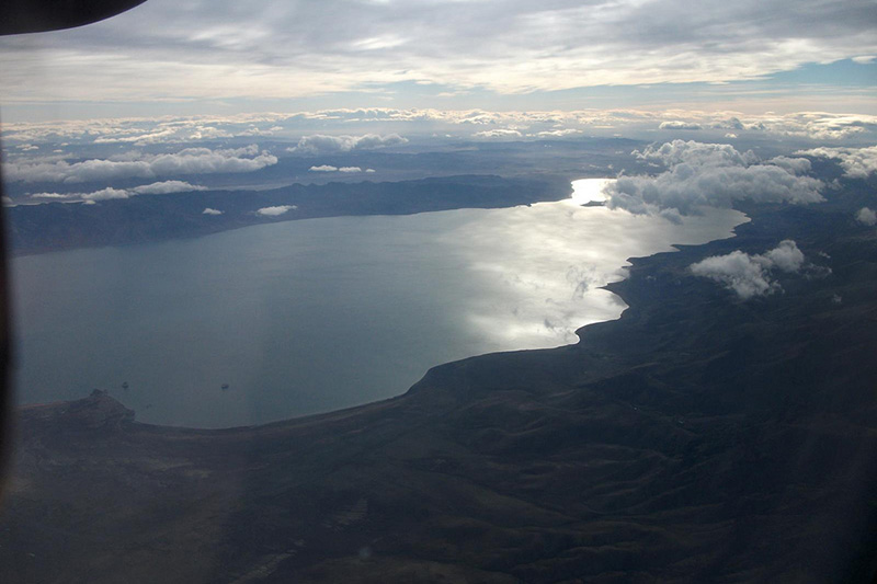 Aerial Pyramid Lake