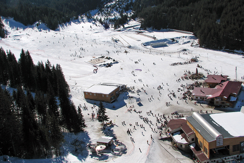 Bansko Ski Area, Elevated View