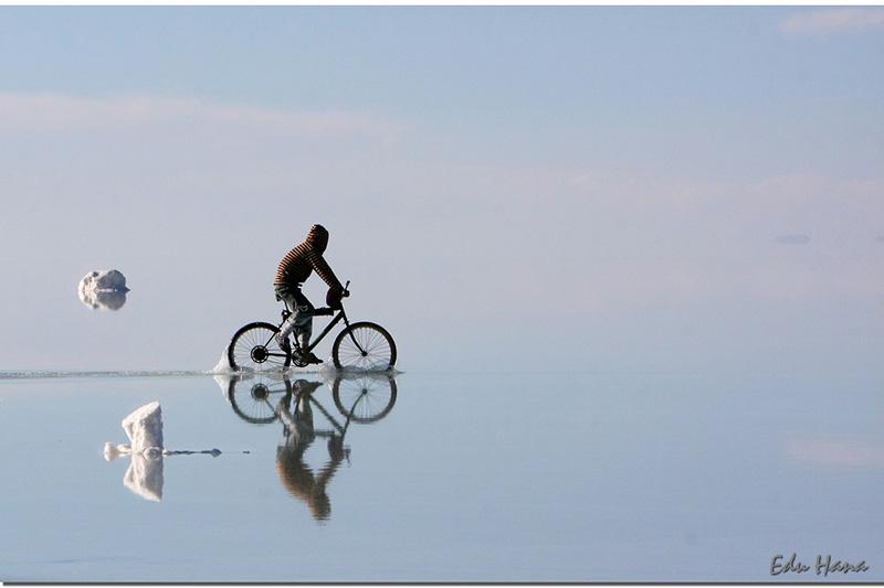 Bike on Water