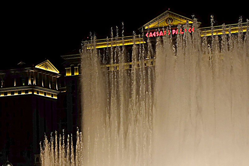 Caesar's Water Show