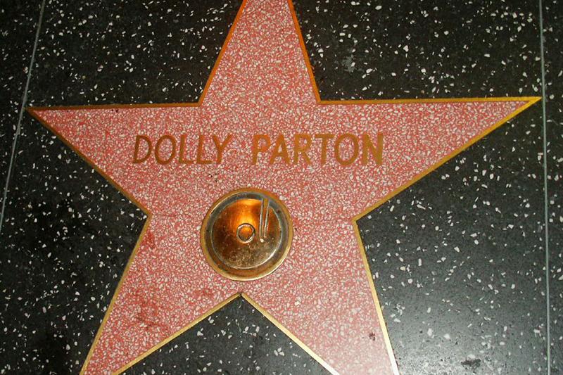 Dolly Parton Star