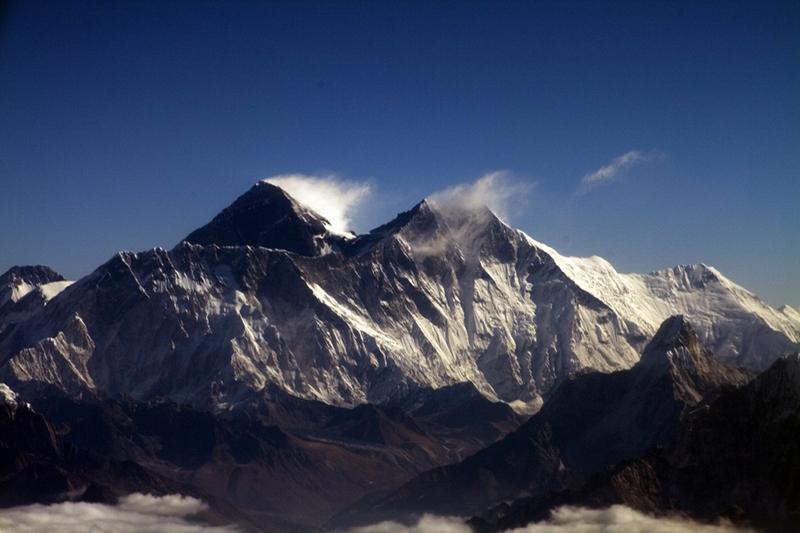 Flying Near Everest