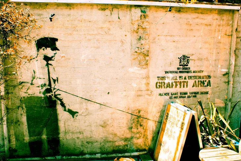 Graffiti area