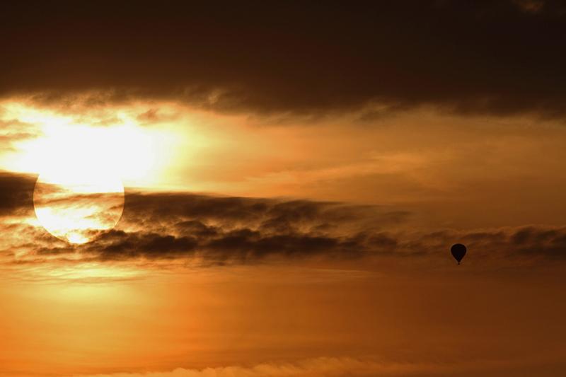 Hot air ballon - fucking beautiful