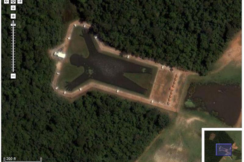 Man Shaped Lake