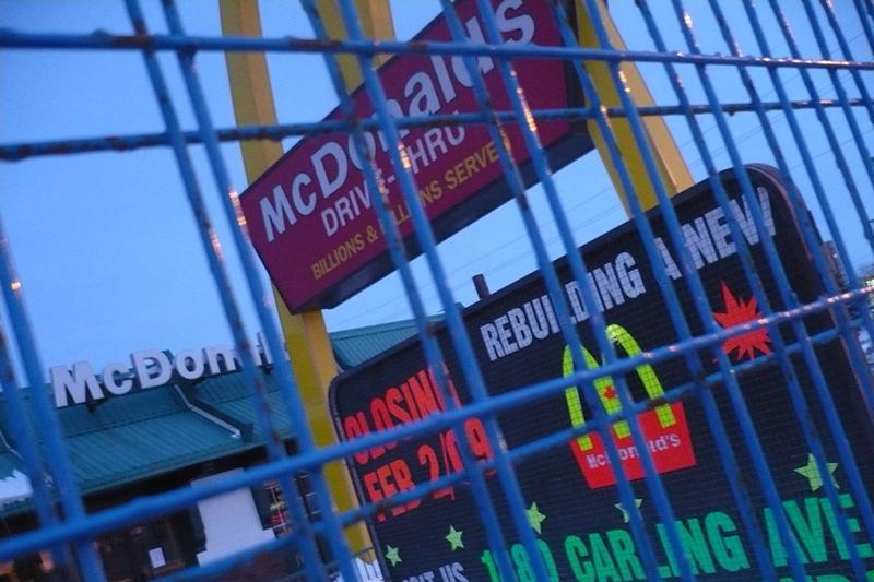 Rebuilding a New McDonalds