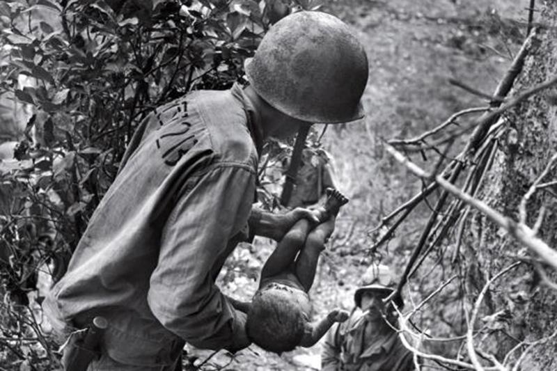 Saving a World War 2 Baby