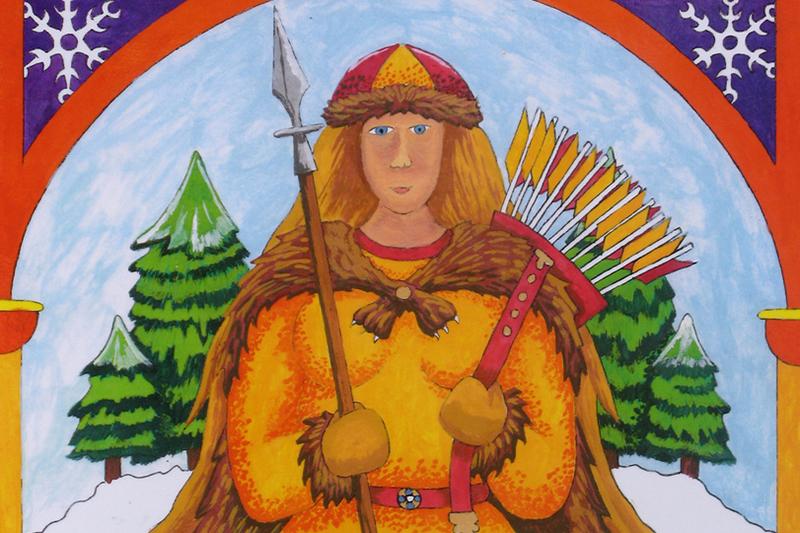 Skadi, Goddess of Hunting