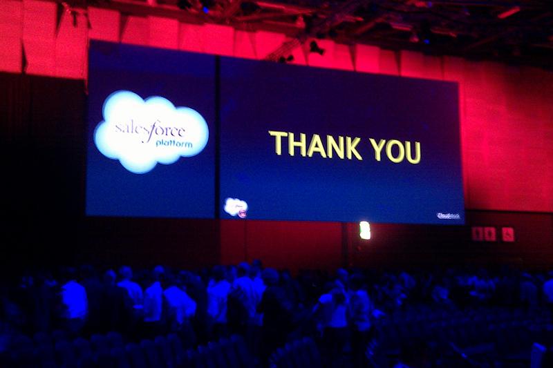 Thank You Salesforce
