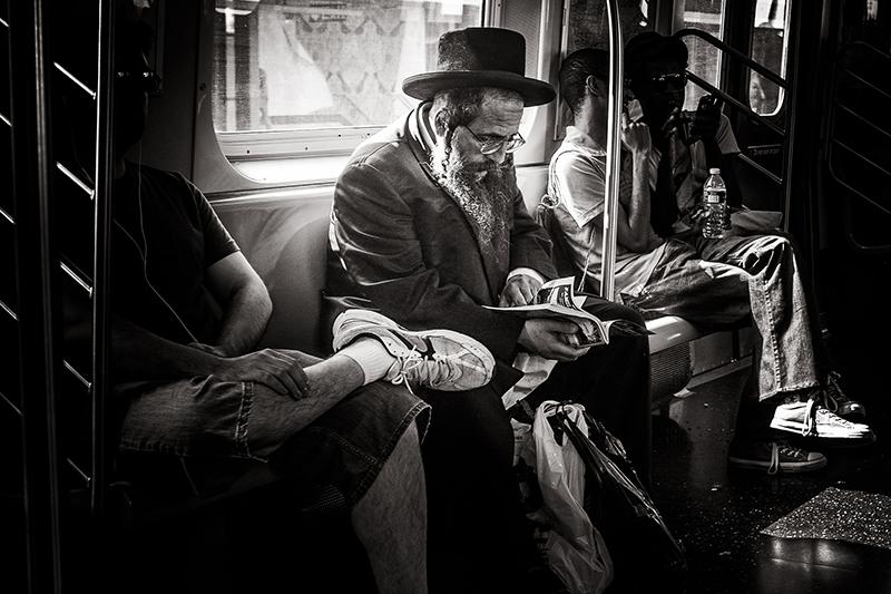 The Rabbi (on the subway)