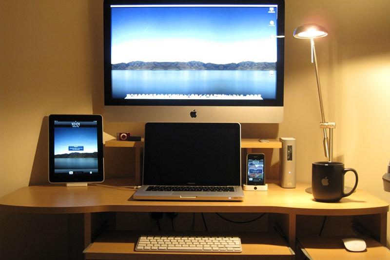 The modern desk