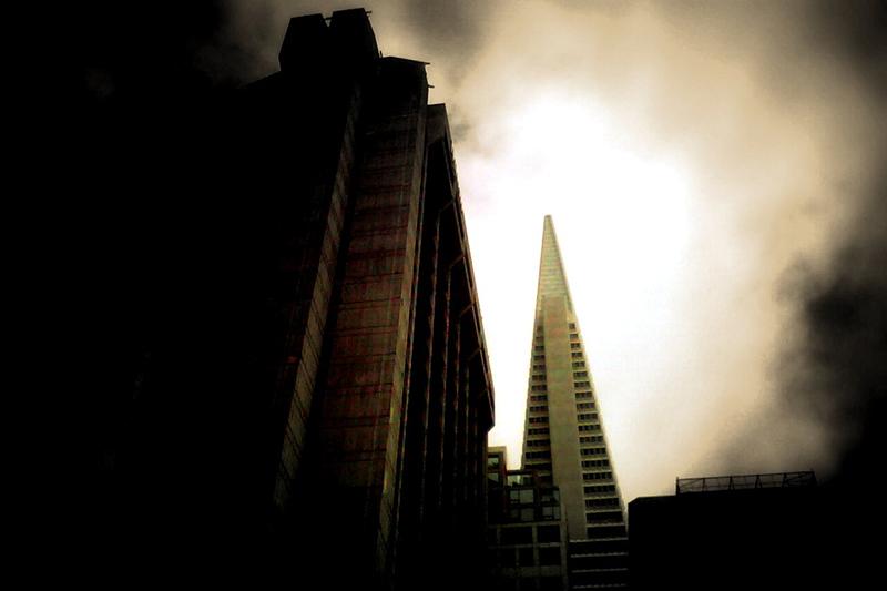 Transamerican building of light
