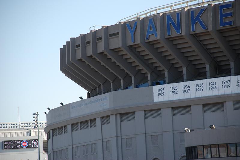 Yankee Stadium Front door